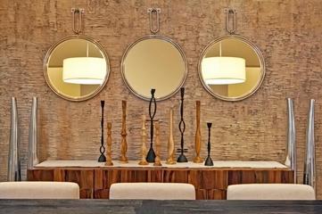 欧式别墅装饰套图设计餐厅陈设