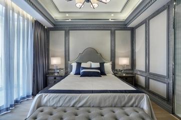 146平新古典复式楼欣赏卧室设计