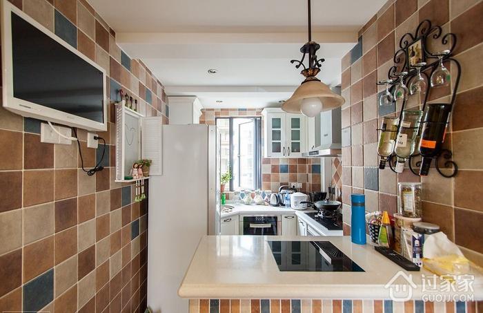 厨房吧台设计效果图 时尚个性家居