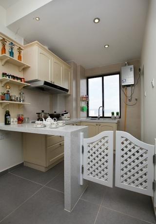 淡雅简约两居室欣赏厨房吧台
