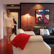 115平实用简约住宅欣赏客厅陈设