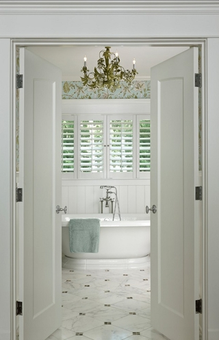 唯美别墅温馨住宅欣赏卫生间设计