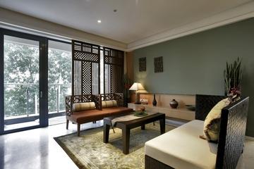 东南亚风格样板房欣赏