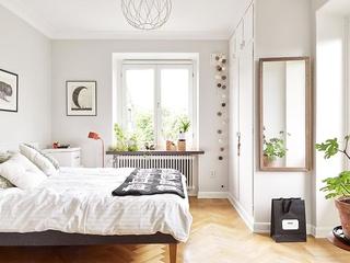 64平宜家风格效果图欣赏卧室