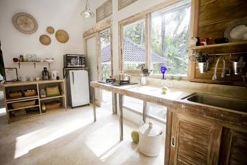 北欧超高挑空度假别墅欣赏厨房