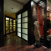 现代风格设计公寓室内门