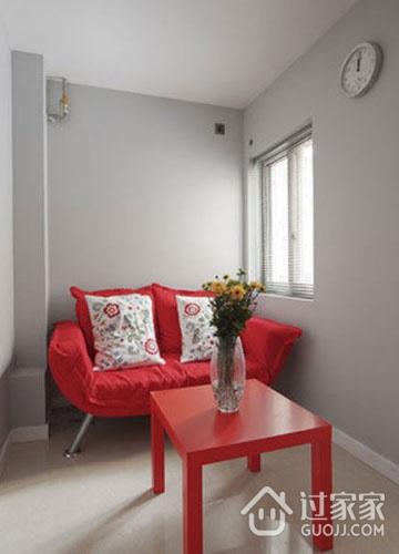 50平米现代一居室效果欣赏