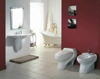 入墙式卫浴极具现代气息