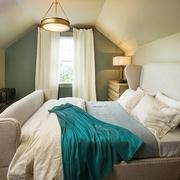 细节营造迷人现代别墅欣赏卧室效果图