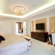 欧式效果卧室软装设计