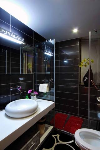 东南亚风格案例欣赏卫生间设计图