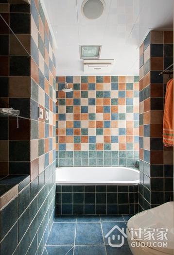 潮流卫生间浴缸装修效果图