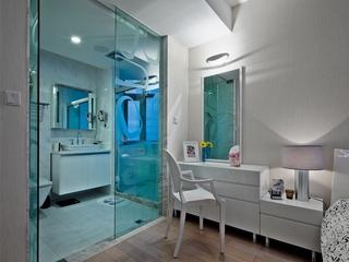现代舒适婚房欣赏卫生间