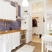 38平纯白地板住宅欣赏厨房