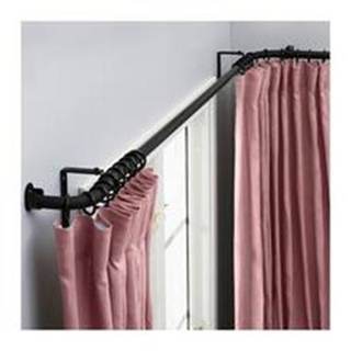 窗帘伸缩杆的安装方法