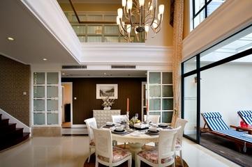东南亚风住宅欣赏餐厅
