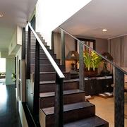 中式风木质楼梯
