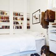 单身最爱的简约一居室欣赏卧室