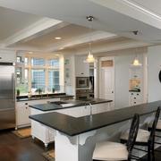 简约风格装饰图欣赏开放厨房