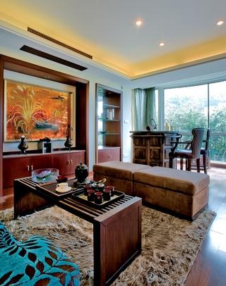 混搭时尚奢华别墅欣赏客厅设计