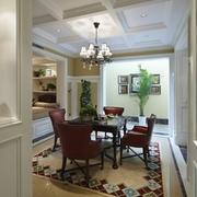 美式风格装修效果欣赏休闲厅设计