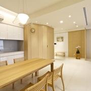 木色简约分住宅欣餐厅设计