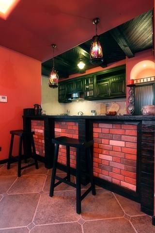 红磨坊混搭住宅欣赏厨房