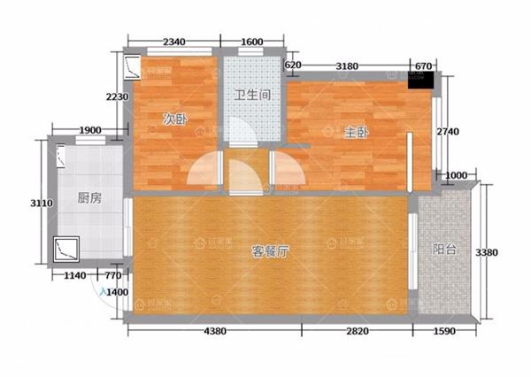 【臻品案例鉴赏】第68期「舒适系」——64㎡纯净清新的现代简约之家