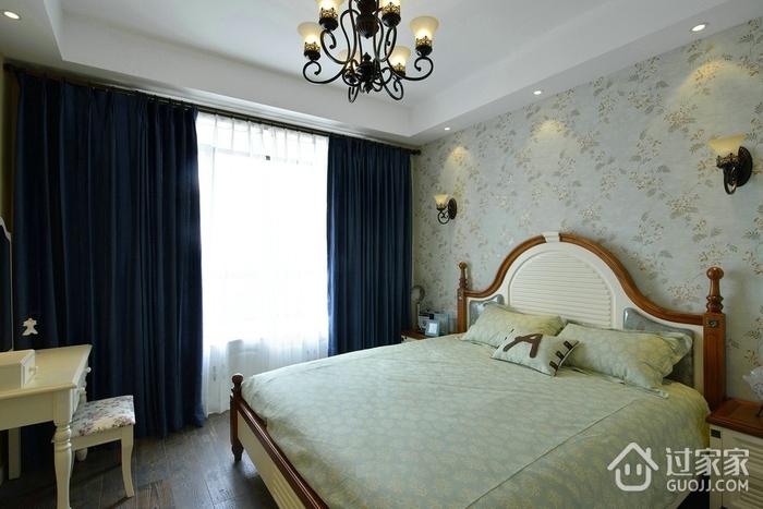 优雅卧室窗帘效果图 打造自然感觉
