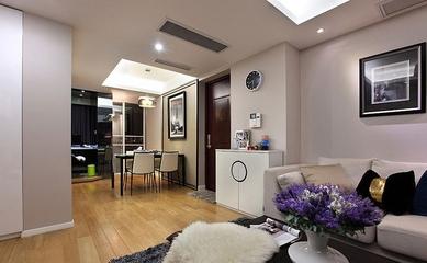 简约客厅吊顶装修效果图 温馨简单生活