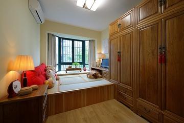 新中式禅意空间欣赏儿童房