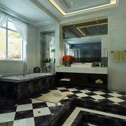 奢华新古典四居室欣赏卫生间设计