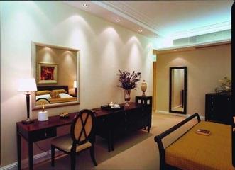 简约风格四居室效果图欣赏卧室