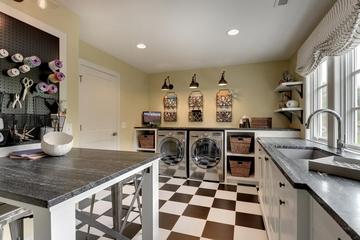 简约风格效果图洗衣房设计
