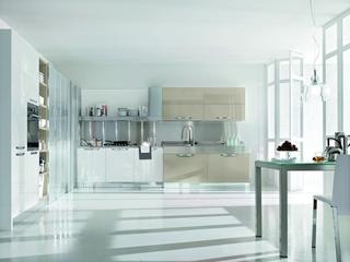 现代风格复式楼厨房设计