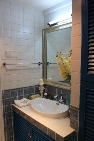 89平地中海样板房欣赏洗手间