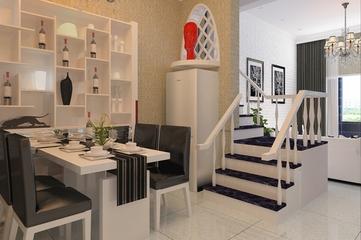 94平现代复式住宅欣赏餐厅设计