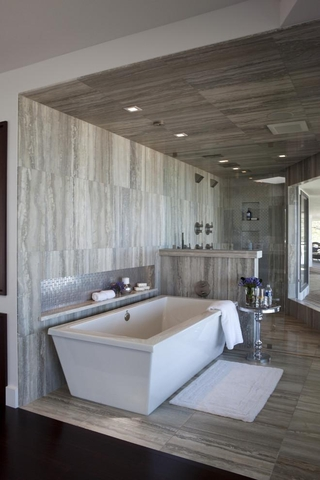 新古典住宅装饰效果图卫生间设计