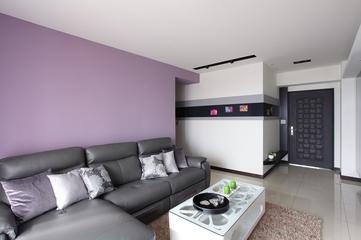 82平现代质感住宅欣赏客厅效果