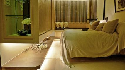 简欧风格设计效果图大全欣赏卧室陈设