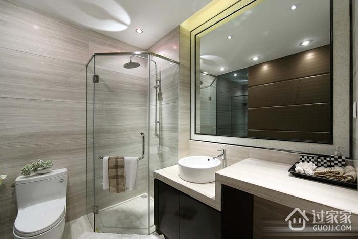现代卫生间淋浴房效果图