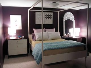 107平简约时尚家居欣赏卧室设计图