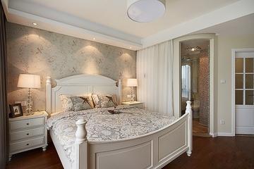 97平美式三居室欣赏卧室吊顶