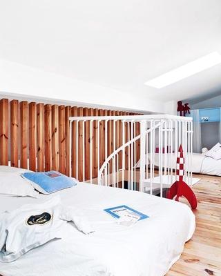 老房改造简约三居室欣赏卧室