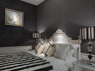 125平简欧奢华住宅欣赏卧室效果