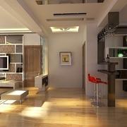 107平简约三居室设计欣赏过道吊顶