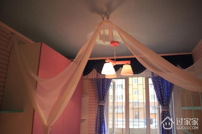 粉丝简约小屋欣赏卧室吊顶