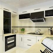 现代极简两居室欣赏厨房橱柜