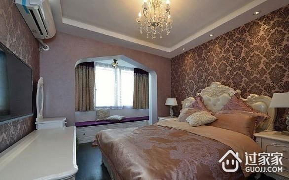 82平现代三居室温馨之家卧室飘窗