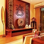 岭南中式风背景墙